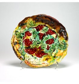 Dinner Plate, form by Lisa Orr, glaze by Jason Bige-Burnett