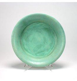 Ursula Hargens Platter, form by Ursula Hargens, glaze by Joe Pintz