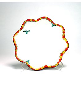 Salad Plate, form by Jason Bige-Burnett, glaze by Liz Quackenbush