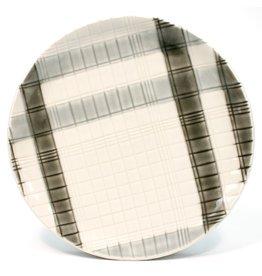 Kyla Toomey Plaid Plate
