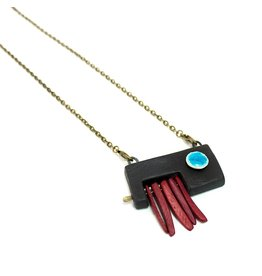 Tricia Schmidt Asymmetrical necklace