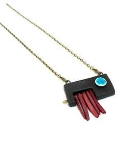 Tricia Schmidt Asymmetrical necklace