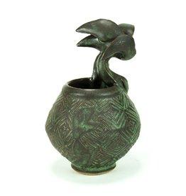 Peter Jadoonath Small Beast Vase