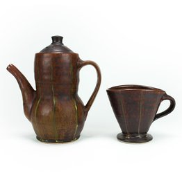 Coffee Pot and Pour Over