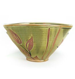 Sandra Daulton Shaughnessy slit handle bowl