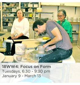 NCC Intermediate Pottery - Focus on Form