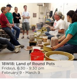 NCC Land of Round Pots - Wheel Throwing 101
