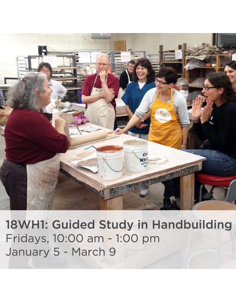NCC Expand your handbuilding fundamentals to explore figural, architectural, animal, decorative, and other non-functional applications of clay.