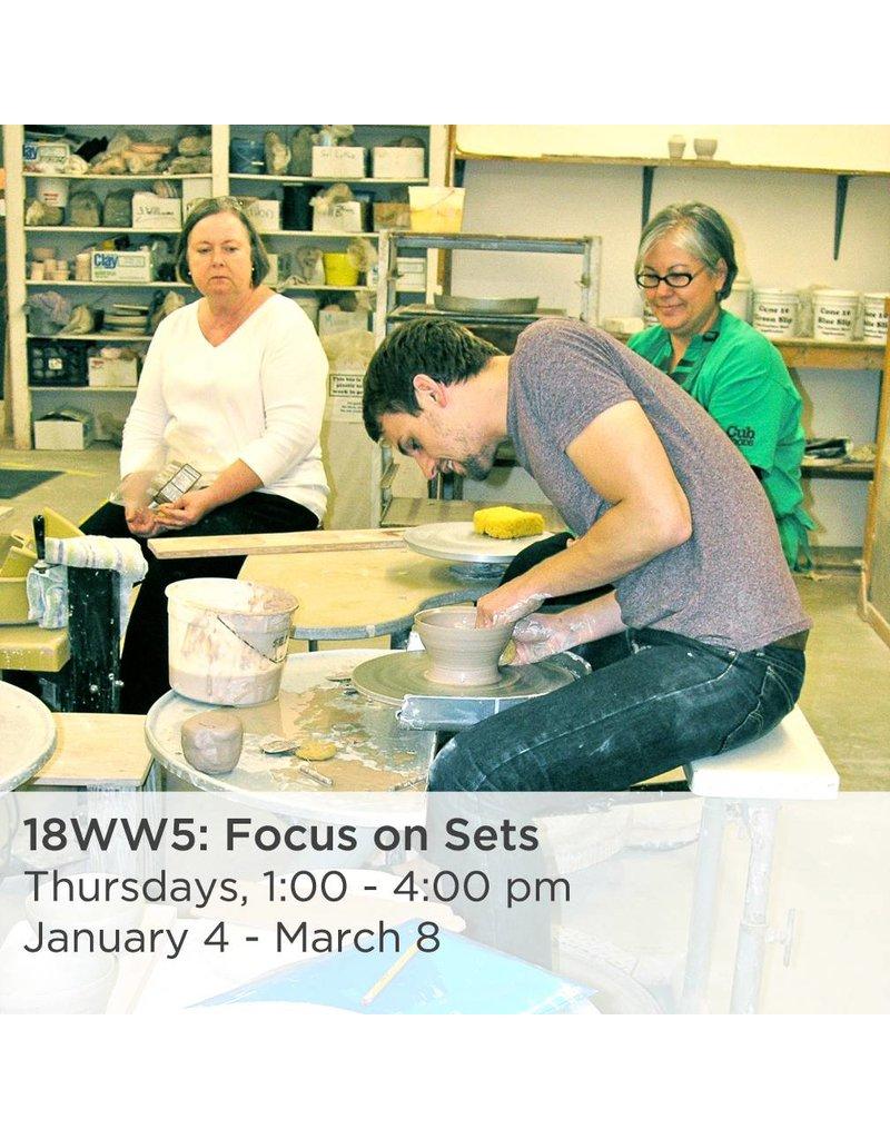 NCC Intermediate Pottery - Focus on Sets