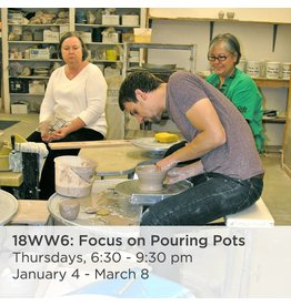NCC Intermediate Pottery - Focus on Pouring Pots