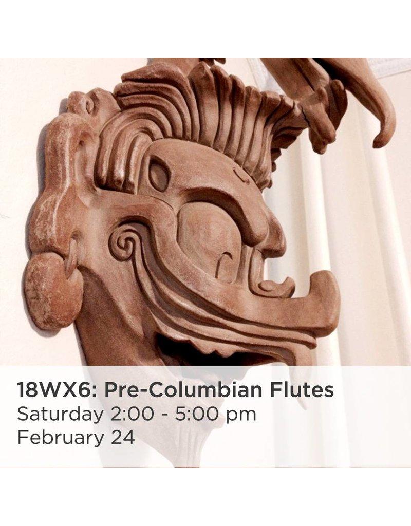 NCC Pre-Columbian Flutes