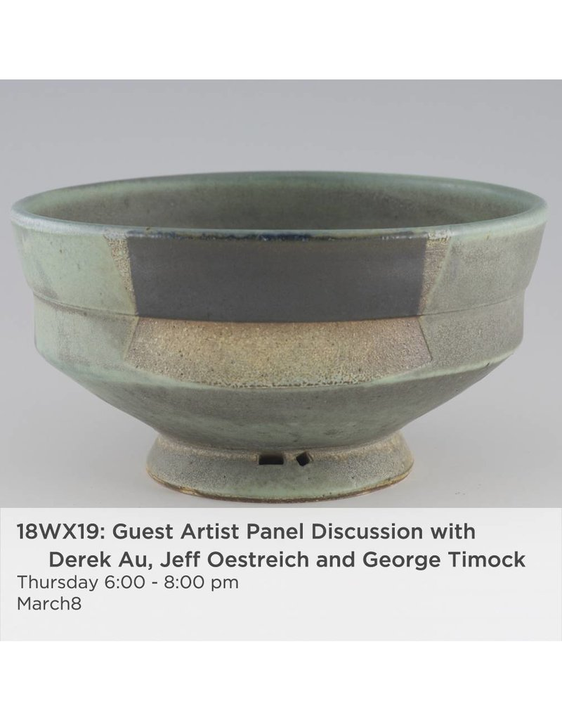 NCC Guest Artist panel discussion with Derek Au, Jeff Oestreich and George Timock