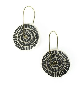 Tricia Schmidt Night Spoke Earrings