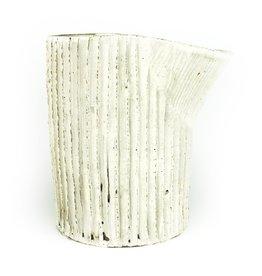 Ani Kasten White Pitcher Vase