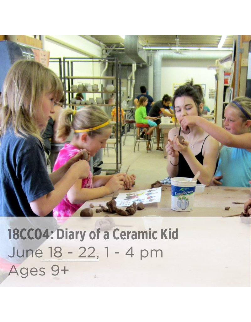 NCC Diary of a Ceramic Kid