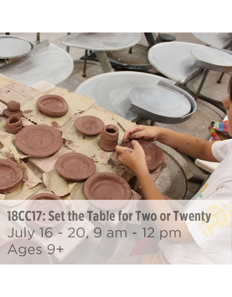 NCC Set the Table for Two or Twenty