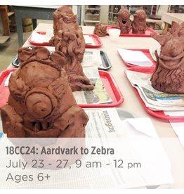 NCC Aardvark to Zebra