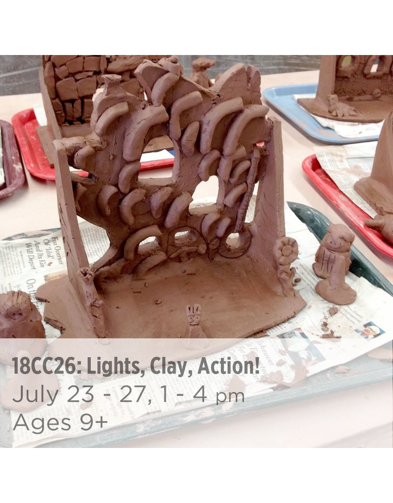 NCC Lights, Clay, Action!