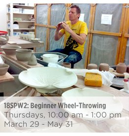 NCC SOLD OUT: Beginner Wheel-Throwing