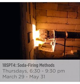 NCC WAITLIST: Soda-Firing Methods