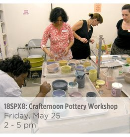 NCC Cancelled: Crafternoon Pottery Workshop