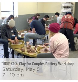NCC Clay for Couples Pottery Workshop