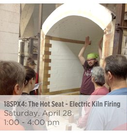 NCC The Hot Seat – Kiln Firing 101 (Electric only)