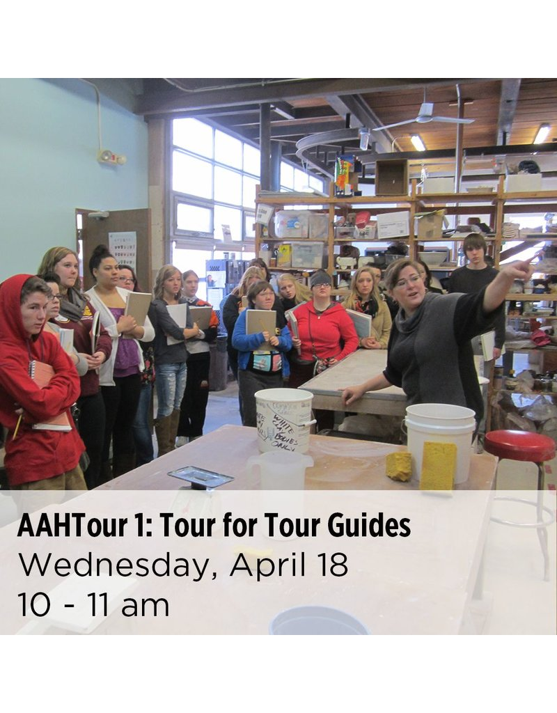 NCC Tour for Tour Guides from Metro area art museums