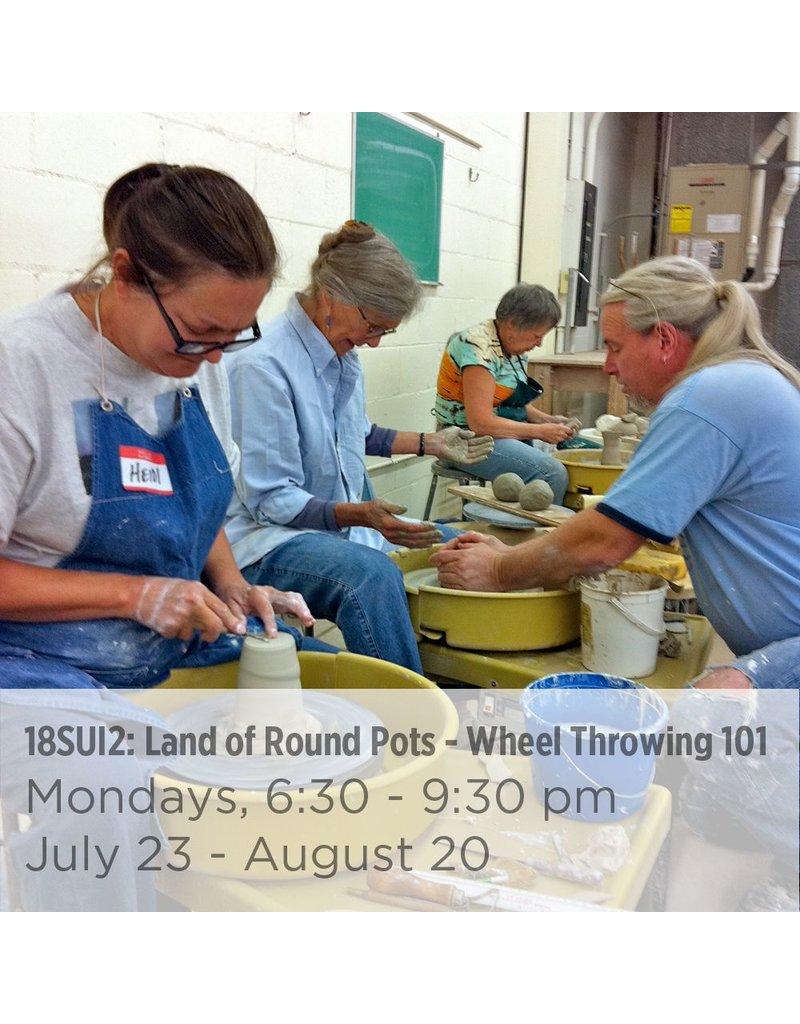 NCC Land of Round Pots – Wheel Throwing 101