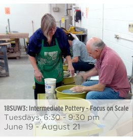 NCC Waitlist: Intermediate Pottery - Focus on Proportion and Scale