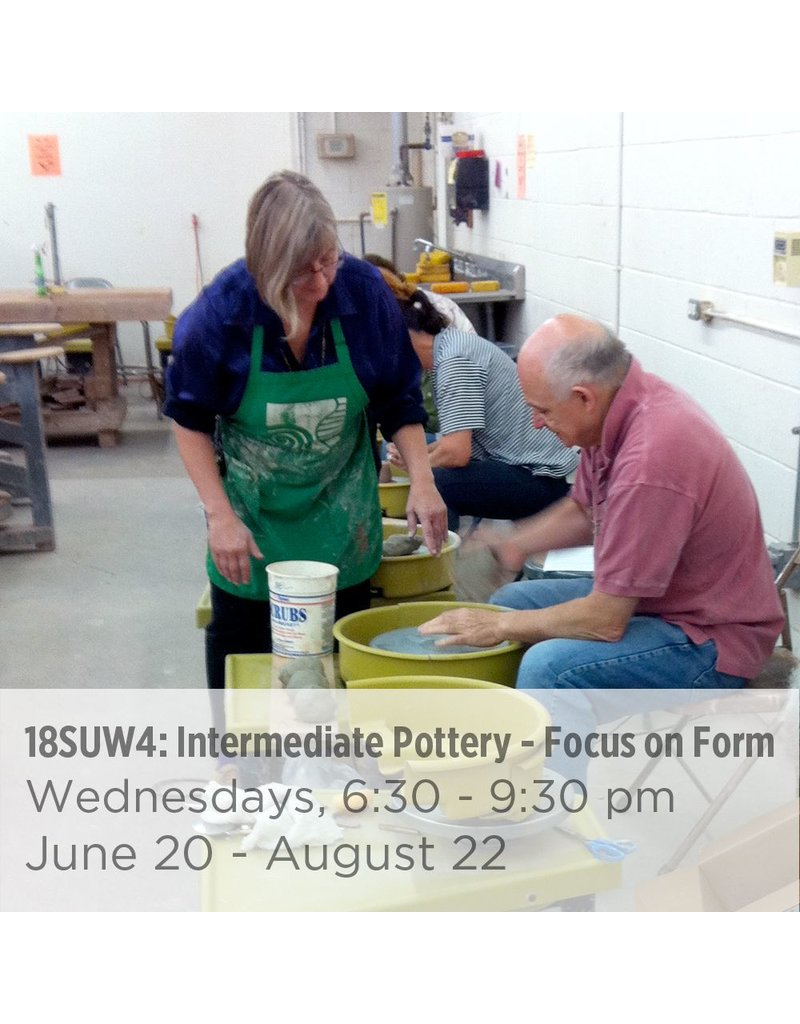 NCC Intermediate Pottery – Focus on Form