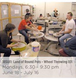 NCC WAITLIST Land of Round Pots – Wheel Throwing 101