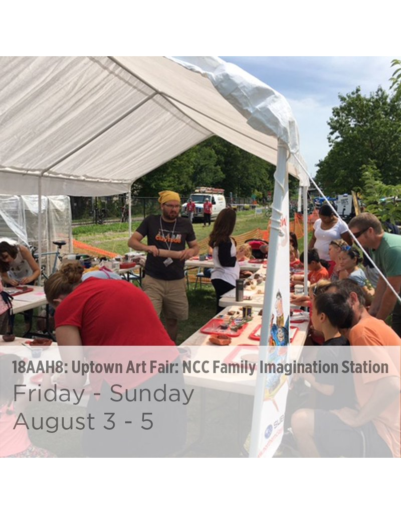 NCC Uptown Art Fair: NCC Family Imagination Station