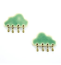 Tricia Schmidt Cloud earring