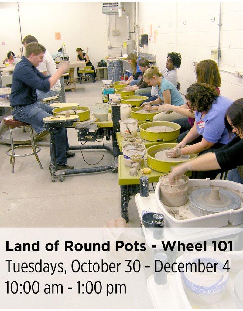 NCC Land of Round Pots - Wheel Throwing 101