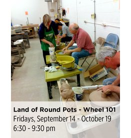 NCC Cancelled: Land of Round Pots - Wheel Throwing 101