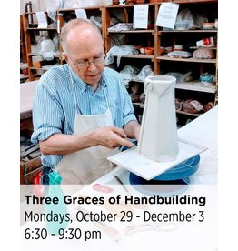 NCC WAITLIST: The Three Graces of Handbuilding