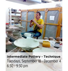 NCC Intermediate Pottery - Focus on Technique and Refinement