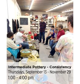 NCC SOLD OUT: Intermediate Pottery - Focus on Sets and Consistency