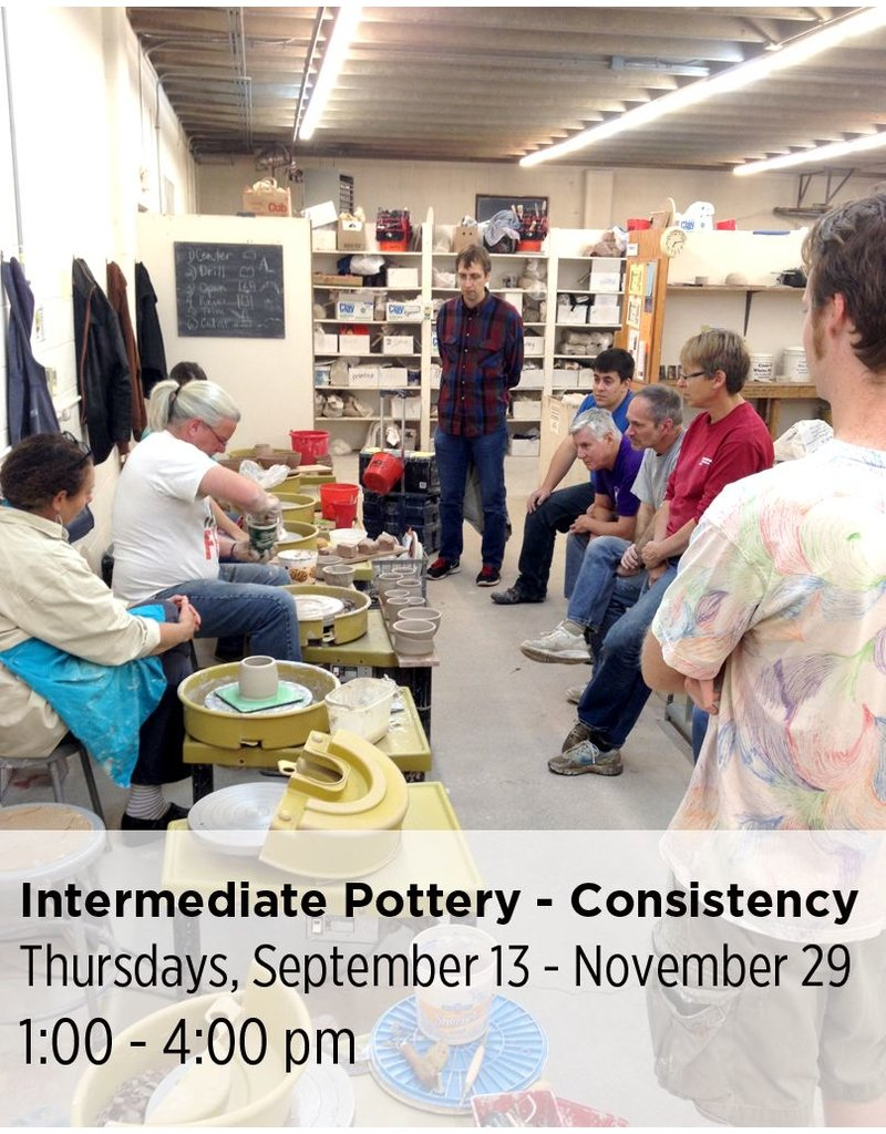 NCC Intermediate Pottery - Focus on Sets and Consistency
