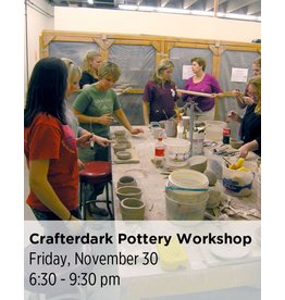 NCC SOLD OUT: Crafterdark Pottery Workshop