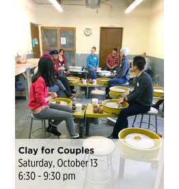 NCC CANCELLED: Clay for Couples Pottery Workshop