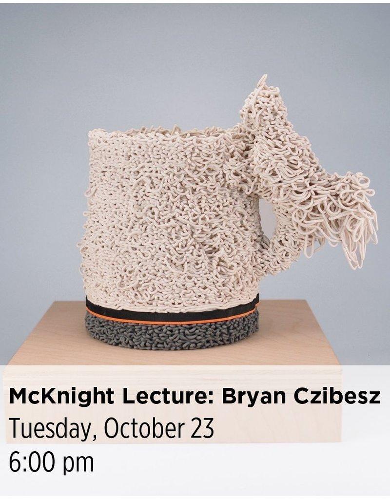 NCC McKnight Resident Artist Lecture: Bryan Czibesz