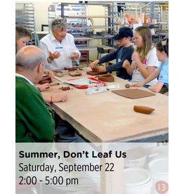 NCC CANCELLED: Summer, Don't Leaf Us