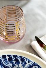 Art Deco Wine Glass