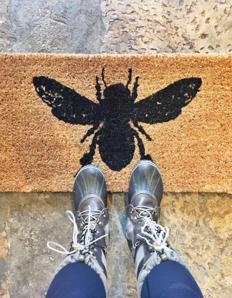 HoneyBee Welcome Mat