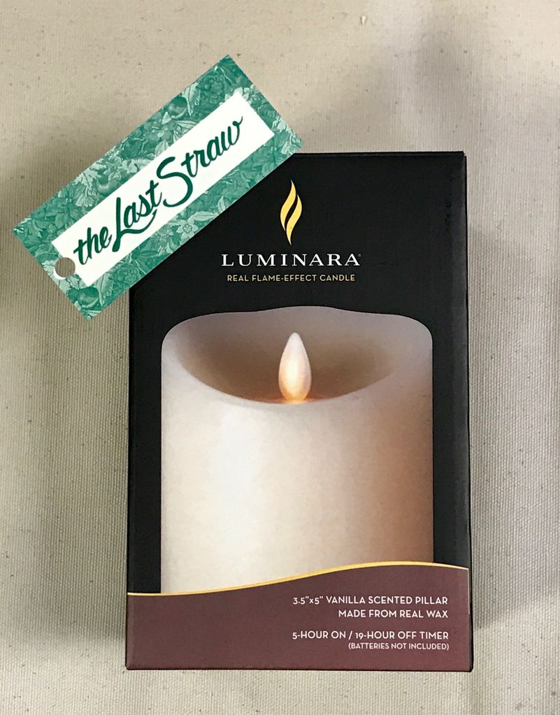 """HOME FRAGRANCE 3.5X<br /> 5"""" BATTERY CANDLE"""
