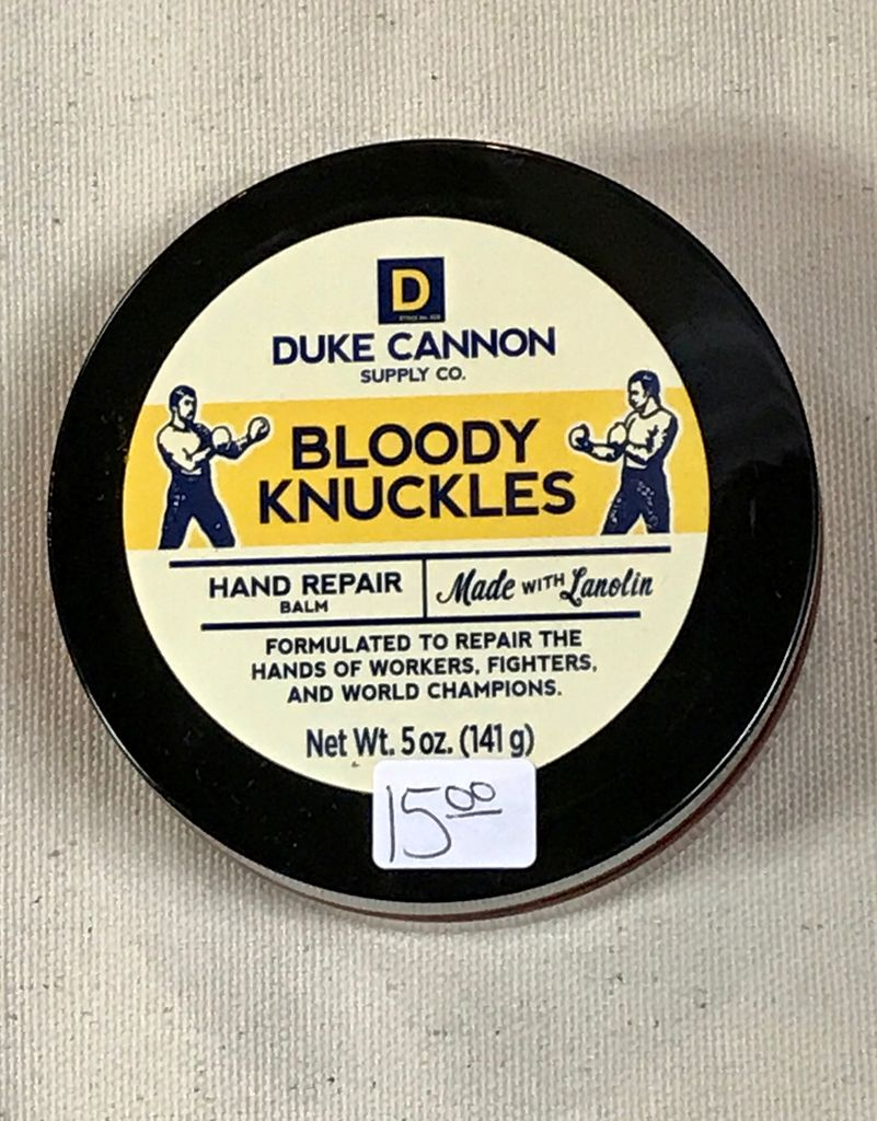 GIFTS BLOODY KNUCKLES HAND BALM