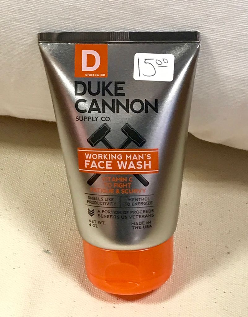 GIFTS WORKING MAN FACE WASH