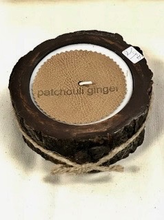 HOME FRAGRANCE GINGER PATCHOULI CANDLE